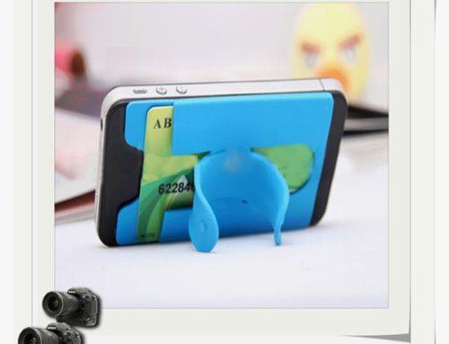 矽膠黏貼式手機支架