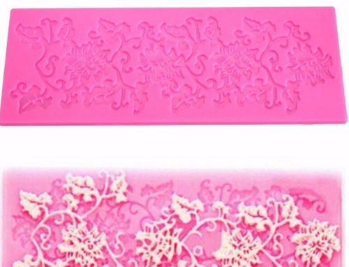 蛋糕花紋烘焙模具