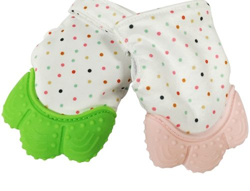 嬰兒矽膠保暖手套