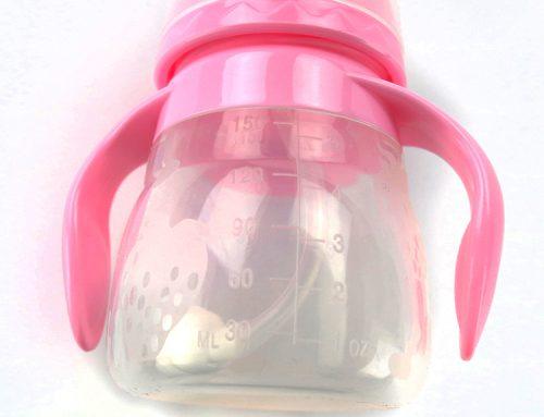 嬰兒矽膠奶瓶