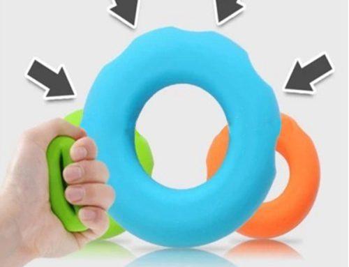 矽膠手握力量訓練環