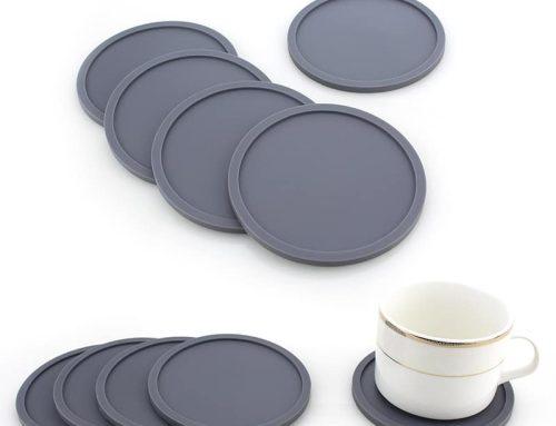 圓形加厚矽膠隔熱止滑杯墊